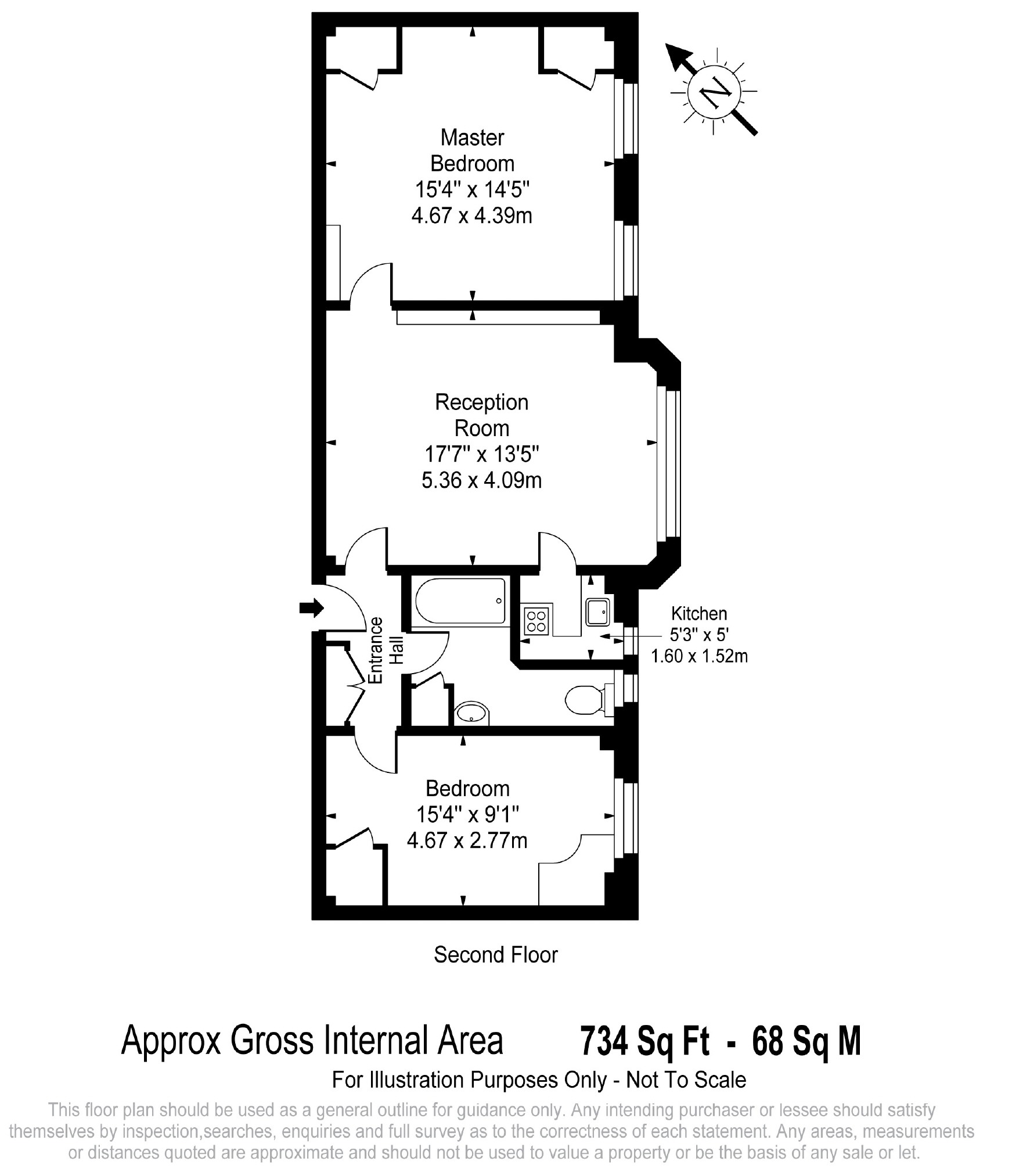 2 Bedroom Apartment For Sale In Tavistock Court WC1H